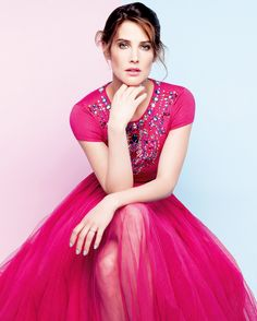 Cobie Smulders for Glamour Mexico (May 2015)