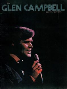 1972 Glen Campbell Souvenir Concert Program Picture Book - TnTCollectibles