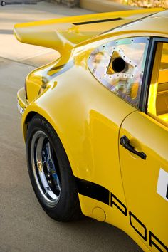 desertmotors:  1973 Porsche 911 RSR IROC Race Car
