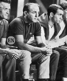 Alfredo Di Stefano horas antes de ser secuestrado. Caracas, 25-08-1963 (ARCHIVO EL NACIONAL)