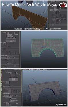 In this series of videos, we're checking out some very basic, yet powerful modelling techniques. While we're using Maya, the principles can be applied in any other 3D application.#cg,#3dmodeling,#maya