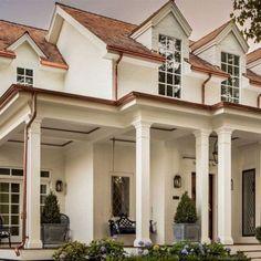 design crush the fox group home exteriorsbecki owens Exterior Paint Colors For House, Paint Colors For Home, Exterior Colors, Exterior Design, Exterior Shutters, Paint Colours, Home Design, Design Ideas, Design Inspiration