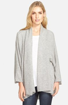 Nordstrom Nordstrom Open Front Cashmere Cardigan available at #Nordstrom