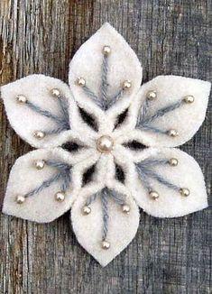 Diy christmas ornaments 357965870381484407 - Source by carolinemnixon Felt Christmas Decorations, Beaded Christmas Ornaments, Felt Ornaments, Handmade Christmas, Glass Ornaments, Felt Crafts, Holiday Crafts, Fabric Crafts, Christmas Sewing