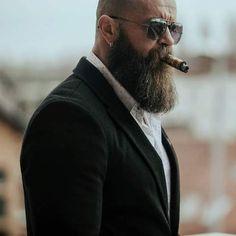 Beard And Mustache Styles, Beard Styles For Men, Beard No Mustache, Hair And Beard Styles, Grey Beards, Long Beards, Badass Beard, Men Wearing Dresses, Beard Shapes