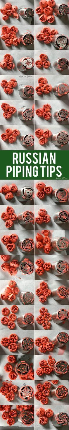 A review of Russian piping tips that you won't want to miss!