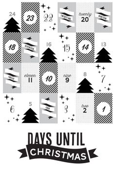 DIY advent calendar with free printables Christmas Calendar, Noel Christmas, Christmas Countdown, Winter Christmas, All Things Christmas, Christmas Crafts, Xmas, Advent Calenders, Diy Advent Calendar