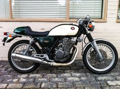 Nighthawk Cafe Racer › Elegant nighthawk cafe racer Honda Gb250
