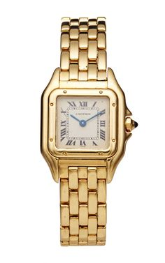 18K Yellow Gold Vintage Cartier Panthere by LSC Design Estate Jewelry for Preorder on Moda Operandi
