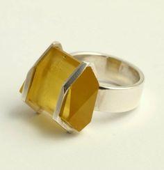 Rugged ring by Māris Auniņš | Марис Ауниш. Массивное кольцо