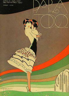 Forgotten Art Deco Marvels of a Lost Copacabana Magazine Poster Art, Art Deco Posters, Art Vintage, Vintage Posters, Art Et Architecture, Art Fantaisiste, Illustration Art Nouveau, Inspiration Art, Art Deco Era