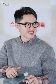 Chansoo, Exo Korean, Exo Do, Do Kyung Soo, Kyungsoo, Black, Penguin, Conversation, Prince