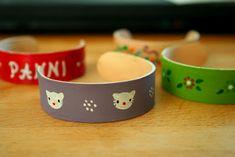 faire des bracelets avec des batons de glaces