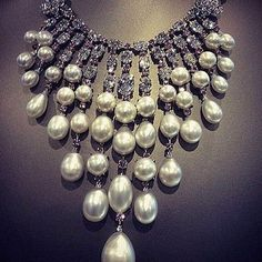 Rosamaria G Frangini | HighJewellery Pearls | By David Morris Finejewelry luxury pearl  necklace