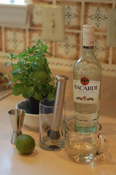 Best Mojito...I like the simple syrup instead of muddled mint