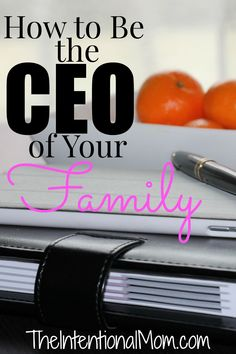 Do you realize that as a mom you are most likely the CEO of your family? Learning how to manage this role efficiently is vital. Here is everything you need laid out for you. Start managing your family efficiently so you have more time for the good stuff.