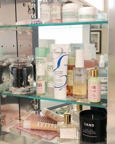 Beauty Corner, Acne Skin, Shelfie, Makeup Blog, Beauty Room, Skin Treatments, Makeup Collection, Good Skin, Face And Body
