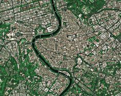 Rome seen by France's Spot 5 satellite