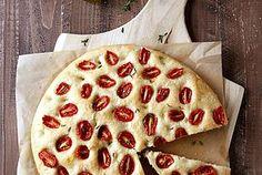 Roasted Tomato Focaccia Bread