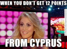 Maria Elena points Cyprus