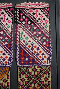 turkish socks from Swedish museum
