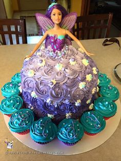 Fairytale Barbie Doll Cake