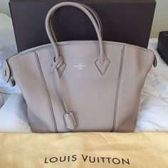 BRAND NEW LV LOCKIT MM DUNE Selling my brand new, Louis Vuitton Lockit MM in Dune. It's never been taken out of the bag, nor the box. It retails for $4250. Louis Vuitton Bags Totes