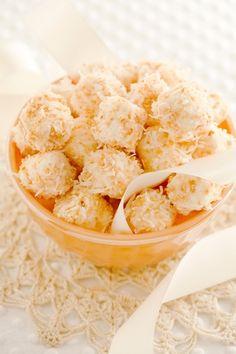 Quick Coconut Bon Bons. Paula Deen recipe