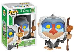 Pop! Disney: The Lion King - Rafiki | Funko Just bought this guy yesterday! :D