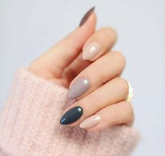 61 Most Stunning Light Colorful Nails Arts Include Acrylic Nails, Matte Nail for Spring - Diaror Diary - Page 37 ♡♥ 𝕴𝖋 𝖀 𝕷𝖎𝖐𝖊, 𝕱𝖔𝖑𝖑𝖔𝖜 𝖀𝖘! ♥♡ ♥ ♥ ♥ ♥ ♥ ♥ ♥ ♥ ♥ ღ♥Hope you like this collection Pretty acrylic nails design! Manicure, Colorful Nail Designs, Colorful Nails, Nagellack Trends, Nails 2018, Neutral Nails, Matte Nails, Acrylic Nails, Stiletto Nails