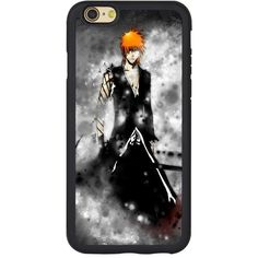 """Bleach Case for Iphone 6,Bleach Manga Anime Case for Iphone 6 4.7"""" TPU... ($4.91) ❤ liked on Polyvore featuring accessories and tech accessories"""