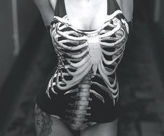 The Skeleton Swim Suit is the latest brilliant bathing suit from Black Milk Clothing. The Skeleton Swim Suit is an instant conversation piece that is anything but the typical swim suit and makes a great gift for women who love unusual artwork.