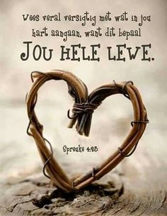 Spreuke 4 Bible Verses Quotes, Jesus Quotes, Words Quotes, Life Quotes, Sayings, I Love You God, Afrikaanse Quotes, Favorite Bible Verses, Scripture Verses