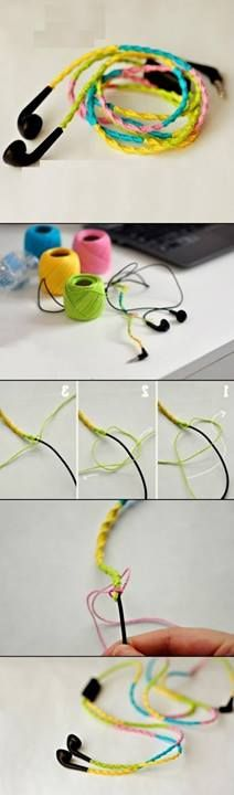 DIY Idea for Earbuds