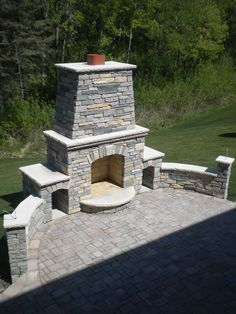 Minnesota's Outdoor Kitchen and Outdoor Fireplace contractor. Specializing in outdoor kitchens, stone fireplaces and wood-fired pizza oven design and build. Outside Fireplace, Backyard Fireplace, Backyard Patio, Fireplace Brick, Backyard Retreat, Foyers, Outdoor Spaces, Outdoor Living, Outdoor Decor