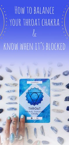How to Balance Your Throat Chakra & Know When It's Blocked Guided Meditation Audio, Chakra Meditation, Chakra Healing, Doterra, Essential Oils For Chakras, How To Relax Yourself, Esential Oils, Accupuncture, Healthy Mind And Body