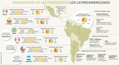 En Colombia y Brasil no alcanza el dinero para pagar deudas