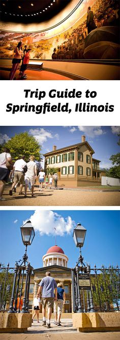 Springfield delivers both serious history lessons and light-hearted slices of Americana. But the city where Lincoln got his start is known for informative sites that put a relatable face on a larger-than-life figure:  http://www.midwestliving.com/travel/illinois/springfield-illinois/springfield-trip-guide/