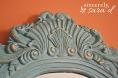 Aging/distressing chalk paint