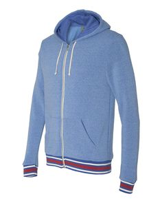 It's time to fall in love with Hoodies ! Royal Eco-Fleece Woody Full-Zip Hoodies (FREE SHIPPING)