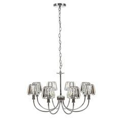 Capri 8 Light Chrome