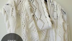 Pattern for Mother's Day lace shawl