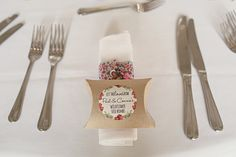 Wild Seed Favours Colourful Home Made Vintage City Wedding http://kat-hill.com/