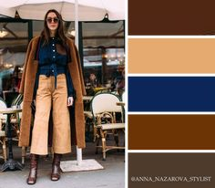 Moda casual chic color combos 43 ideas for 2020 Colour Combinations Fashion, Color Combinations For Clothes, Fashion Colours, Colorful Fashion, Color Combos, Fall Color Palette, Color Pairing, Casual Chic Style, Colourful Outfits