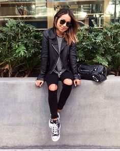 Sincerely Jules in her Aiah Jacket in Black. #JBRAND