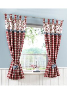 Home deko Kitchen Curtains Can Improve the Appearance of Your Kitchen - Life ideas Renting Tools For Kitchen Curtain Designs, Modern Kitchen Curtains, Kitchen Curtains And Valances, Diy Curtains, Panel Curtains, Sewing Curtains, Farmhouse Curtains, Cortinas Country, Rideaux Shabby Chic