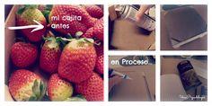 Tuneo de mi caja de fresas, #Decopedia: decoración, bajo precio, económico, barato, handmade, DIY, gratis, Cheap, free, #decopedia2 #lowcost