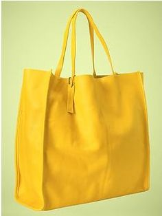 Gap's Bright Yellow Leather Bag.  Cannot find it online, only at certain Gap stores.  Love my yellow one!
