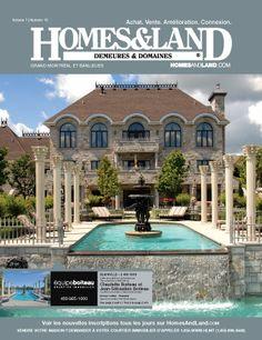 -- Volume 7 Issue 13 -- Homes&Land Demeures & Domaines by Claudette Boiteau et Jean-Sebatioen Boiteau