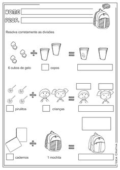 Math Division Worksheets, Multiplication And Division, Teaching Math, Maths, Math Games, Homeschool, Learning, Ariel, Origami